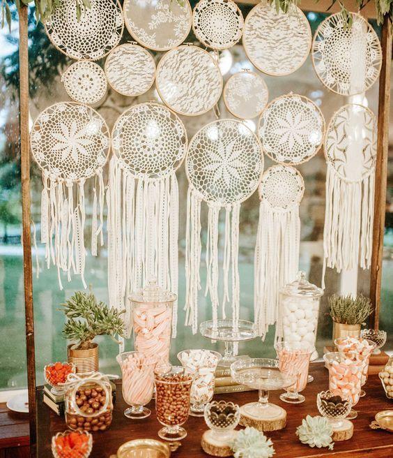 Bastidor na decoração de festas_ muitas inspirações! - Blog do Elo7