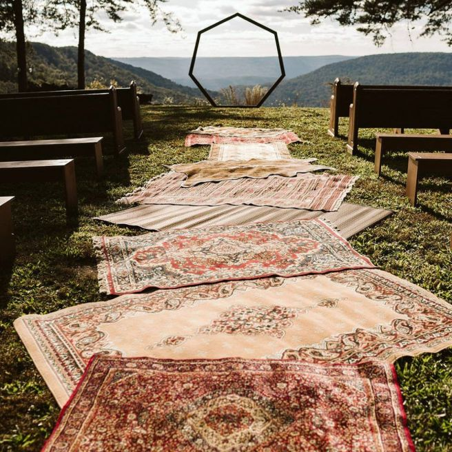 DIY Eclectic Gypsy Waterfall Wedding in Foster Falls USA _ Festival Brides