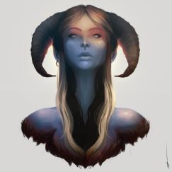 Aries Art Print by Hyrenee