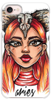 CASETiFY iPhone 7 Case – Aries – Zodiac Series by Shannon Hansen Illustrations