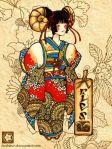 Japanese Taurus by faithfair on DeviantArt