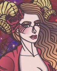 THE ARIES GODDESS (Close-up) by yavizbasalamah on DeviantArt